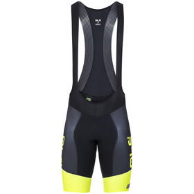 Alé Cycling R-EV1 Master Bib Shorts Men yellow/black
